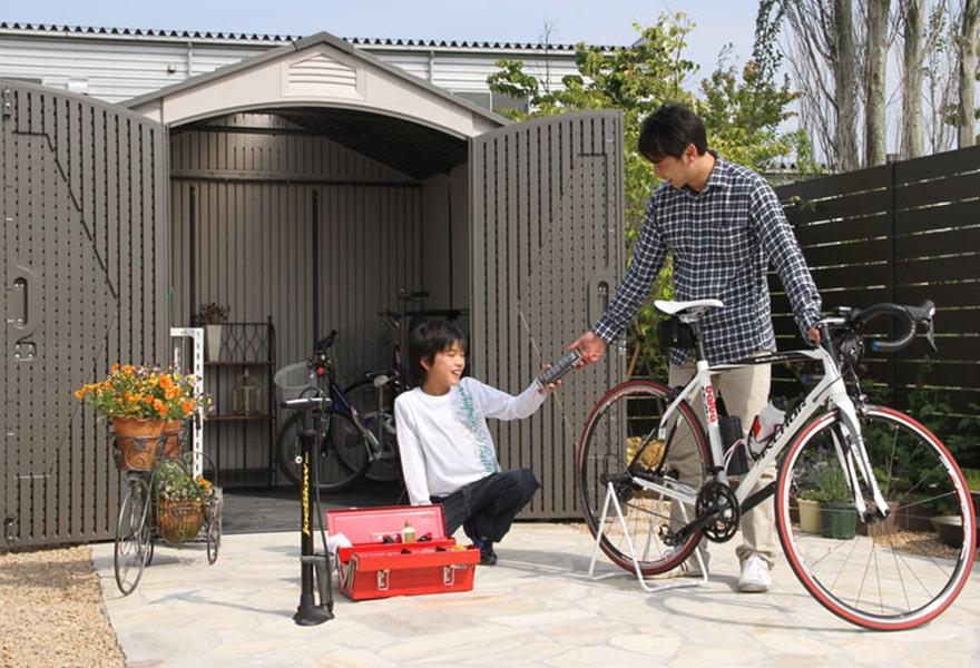 自転車チューニングのお手伝い